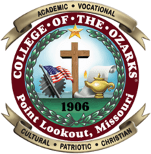 college of the ozarks degrees
